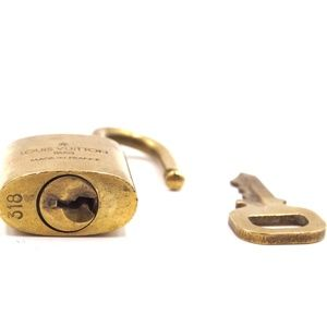 Louis Vuitton Accessories - Gold Lock Keepall Speedy  Key Set #318 Bag